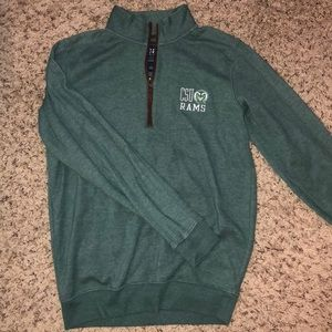 CSU quarter zip
